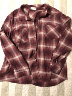NWOT Maurices Flannel Shirt Size XXL