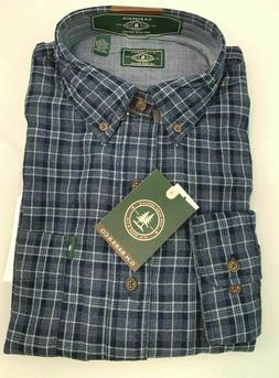 G.H. Bass & Co. Mens  Flannel Long Sleeve Button Down Shirt