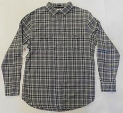 NWT Top Drawer, Grey Plaid Flannel 100% Super Soft Cotton, S