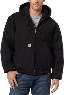 NWT! Carhartt J130 Sandstone Duck Jacket Black X-Large