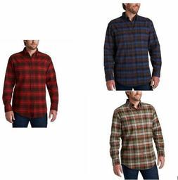 NWT Men's Pendleton Cotton Mason Flannel Shirt Button-up Pla