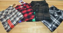 NWT Men's Jach's Button Down Flannel Shirt - SIZE & COLOR VA