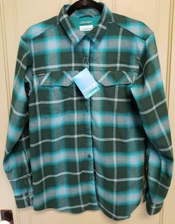 NWT Men's Columbia Silver Ridge Omni Wick Long Sleeve Flanne