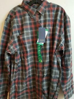 NWT MEN'S PENDLETON WOOLEN MILLS XL FLANNEL