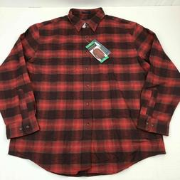 NWT Pendleton Mens Long Sleeve Flannel Mason Shirt Size XL R