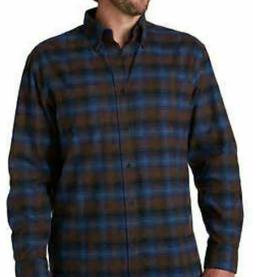NWT Pendleton Mens Sz Large Mason Flannel Shirt  Mens  Blue