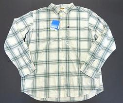 NWT Columbia Multi-Colored Flannel Button Up Long Sleeve Shi
