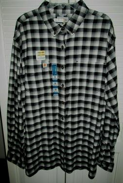 NWT Carhartt® RUGGED FLEX HAMILTON PLAID FLANNEL SHIRT 2XL