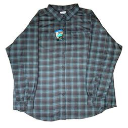 NWT Columbia Silver Ridge 2.0 Men's Flannel Omni-Wick 4XL St