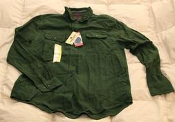 NWT Woolrich Ultimate Flannel Long Sleeve Button Down Shirt