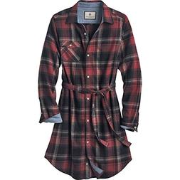 Legendary Whitetails Ladies Open Spaces Dress Frost Plaid La
