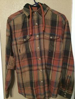 Legendary Whitetails Original Deer Gear Flannel Shirt Plaid