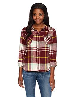 Woolrich Women's Oxbow Bend Chunky Flannel Shirt Jac, Oxbloo