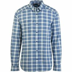 KAVU Patrick Flannel Shirt - Men's Blue Scout, S