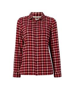 Woolrich Women's The Pemberton Flannel Shirt, Picante Check,