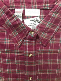 king Size Plaid Flannel Shirt