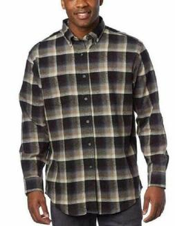 Pendleton Pure Virgin Wool Long Sleeve Plaid Button Up Shirt