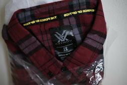 red flannel shirt men s xl brand