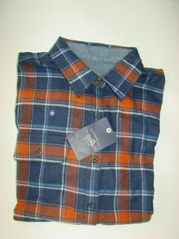 REDUCED!!! G H Bass Flannel Shirt Men's Plaid M Medium NWT!!