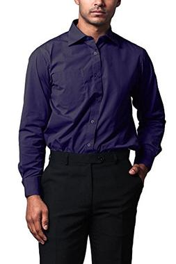 G-Style USA Men's Regular Fit Long Sleeve French Convertible