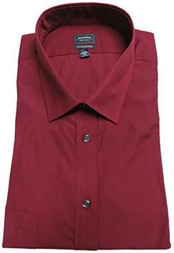 Arrow Men's Regular Fit Shirt, Size 17-17 1/2-34/35, Henna