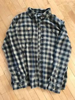 Carhartt Rugged Flex Hamilton Flannel Plaid Shirt Large Tall
