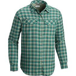 Columbia Men's Silver Ridge Flannel Long Sleeve Shirt, Glaci