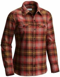 Columbia Silver Ridge Long Sleeve Flannel - Choose SZ+Color