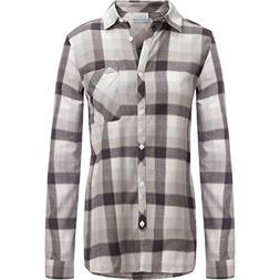 Columbia Simply Put II Flannel Shirt - Women's White Check,