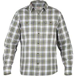 Fjallraven Singi Flannel Cotton/Wool Button Shirt Savanna Hu