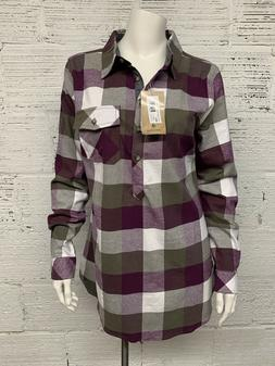 Legendary Whitetails Size M Firelight Popover Flannel Tunic