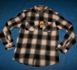Size M Mens Urban Pipeline Flannel Button-Down Shirt Plaid