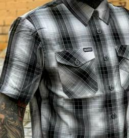 "Dixxon flannel ""SUTHERLAND"". 3XL BAMBOO SHORTSLEEVE. *NEW IN"