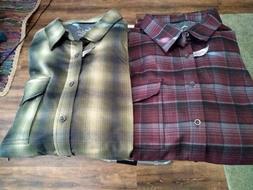 SWISS TECH Performance Gear Men's Plaid Flannel Like Shirts
