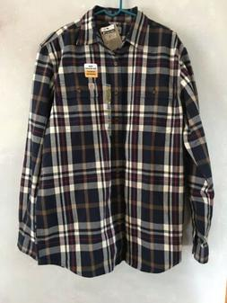 CARHARTT Thick Button Up Flannel — Original Fit 100% Cotto