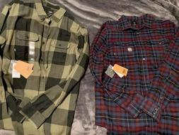 Two New VANS Flannel Shirts Men's Size Large
