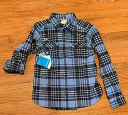 UNC North Carolina Tar Heels Columbia Women's Flannel Shirt