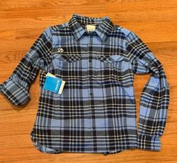 UNC North Carolina Tar Heels Columbia Women's Flannel Shirt