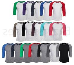 Next Level - UNISEX 3/4 Sleeve Raglan Baseball T-Shirt Tri B