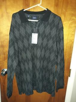 Arrow USA 1851 Mens XXL Blazer Plaid Button Up Shirt Long Sl