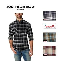 Weatherproof Vintage Men's Long Sleeve Lightweight Plaid Fla