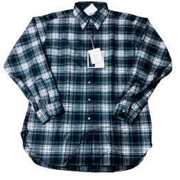 VTG Pendleton Flannel Shirt 100% Virgin Wool Made in USA Siz