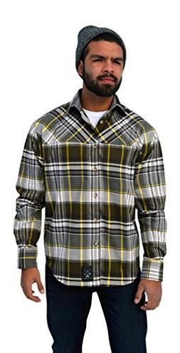 Dolly Varden Men's Wasatch Performance Flannel Long Sleeve S