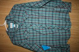 Woman's NWT Columbia Snowy Nook Flannel Long Sleeve Shirt Si