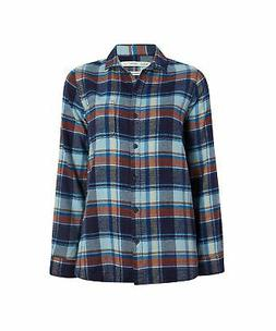 Woolrich Women's Eco Rich Pemberton Boyfriend Flannel Shirt,