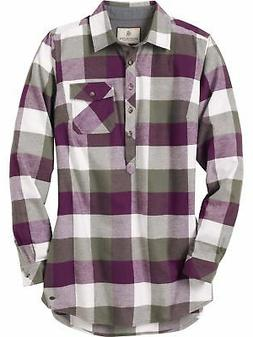 Legendary Whitetails Women's Firelight Popover Flannel Tunic