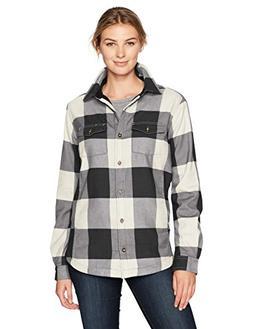 Carhartt Women's Rugged Flex Hamilton Fleece Lined Shirt, Na