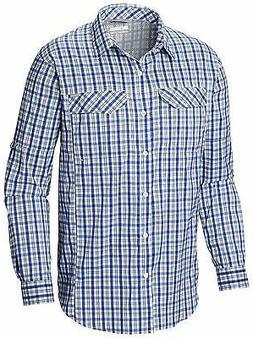 Columbia Women's Silver Ridge Lite Plaid Long Sleeve Shirt,
