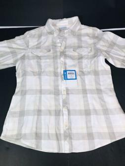 Columbia Women's Simply Put II Flannel Shirt Off-white/Creme