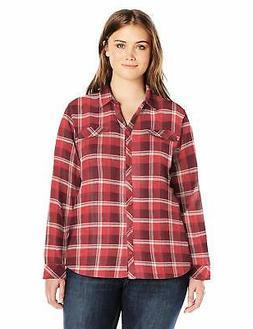 Columbia Women's Simply Put Ii Plus SZ Flannel Shirt - Choos